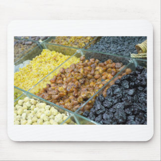 Dried fruit and nuts mouse pad