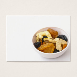 Dried fruits business card