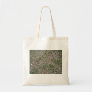 Dried grass texture tote bag