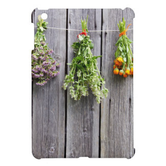 dried herbs wooden vintage grey wall cover for the iPad mini