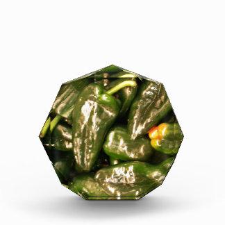 Dried Jalapeno Peppers Acrylic Award