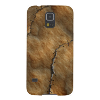 Dried Leather Human Skin Cases For Galaxy S5
