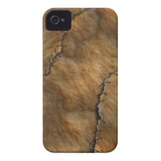 Dried Leather Human Skin iPhone 4 Case-Mate Case