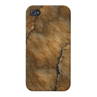 Dried Leather Human Skin iPhone 4 Cover
