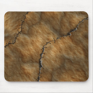 Dried Leather Human Skin Mouse Pad