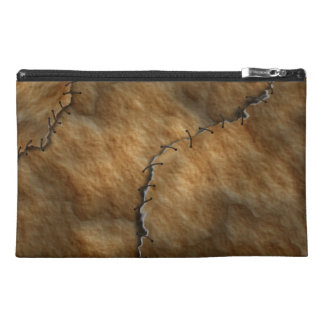 Dried Leather Human Skin Travel Accessory Bag