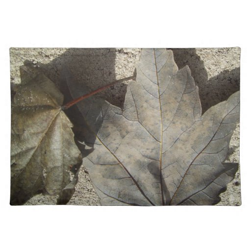 Dried Leaves Place Mats