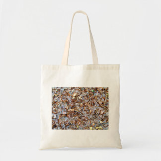 Dried leaves texture bags