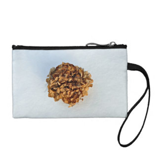 Dried Leaves Texture Coin Purses