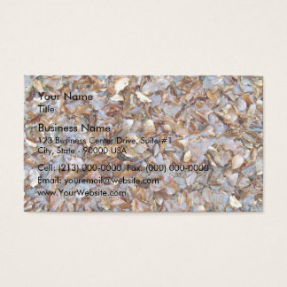 Dried leaves texture business card