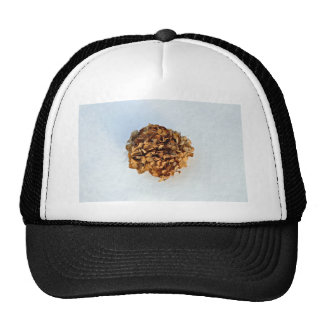 Dried Leaves Texture Hats