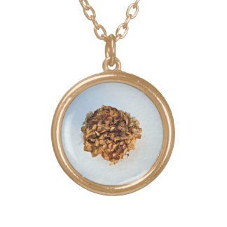 Dried Leaves Texture Necklace