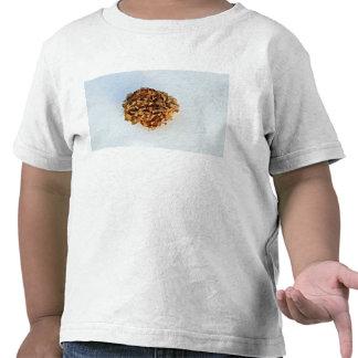 Dried Leaves Texture Tshirts