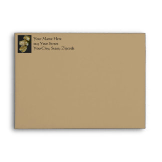 Dried Lily Seed Pods Envelope