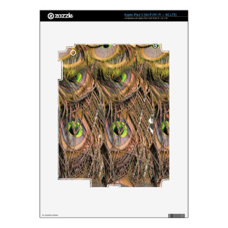 Dried Peafowl Feathers Skin For iPad 3