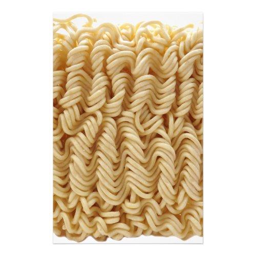 Dried ramen noodles stationery