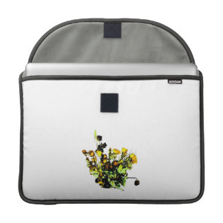 Dried Rose Arrangement yellow theme MacBook Pro Sleeve