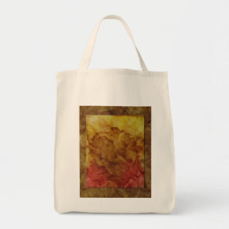 Dried Rose Grocery Tote Grocery Tote Bag