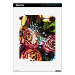 Dried Roses and Babies Breath iPad 3 Decal