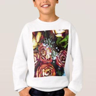 Dried Roses and Babies Breath Sweatshirt