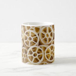 Dried Rotelle Pasta Greeting Coffee Mug