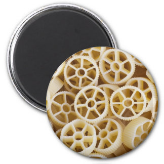 Dried Rotelle Pasta Greeting Magnet