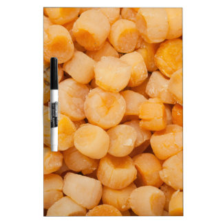 Dried scallops Dry-Erase board