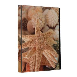 Dried sea stars sold as souvenirs iPad folio case