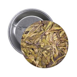 Dried tea leaves of Chinese green tea Pin
