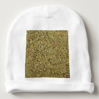 dried thyme texture baby beanie