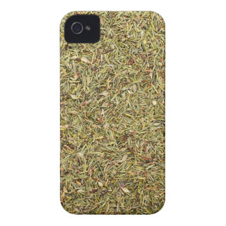 dried thyme texture iPhone 4 case