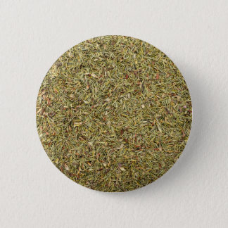 dried thyme texture pinback button