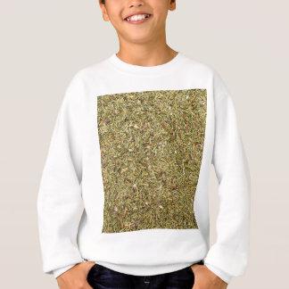 dried thyme texture sweatshirt