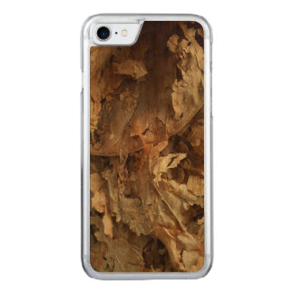 Dried tobacco leaves carved iPhone 8/7 case