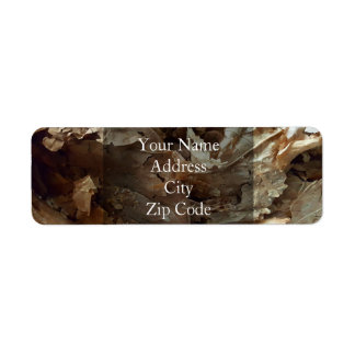 Dried tobacco leaves label