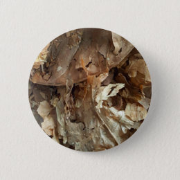 Dried tobacco leaves pinback button