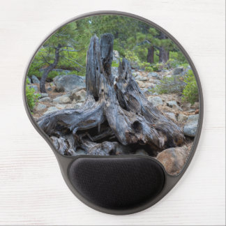 Dried Tree Trunk In The Forest Gel Mouse Pad