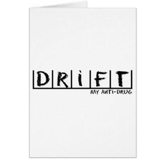 Drift Anti-Drug Card