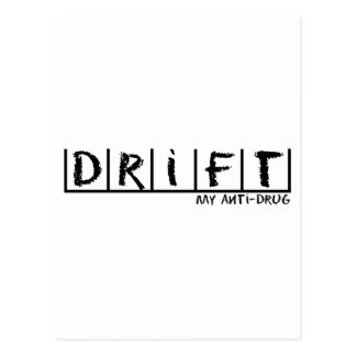 Drift Anti-Drug Postcard