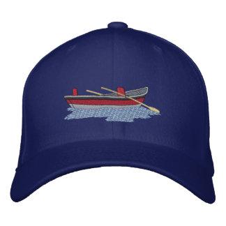 Drift Boat Embroidered Baseball Hat