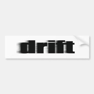 Drift Bumper Sticker