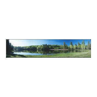 Drift Fence Lake Canvas Print