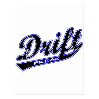 Drift Freak Postcard