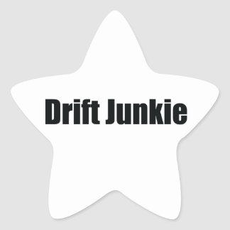 Drift Junkie Star Sticker
