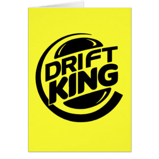 Drift King Card