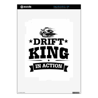 Drift King In Action Skins For iPad 2