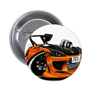 Drift Silvia 2 Inch Round Button