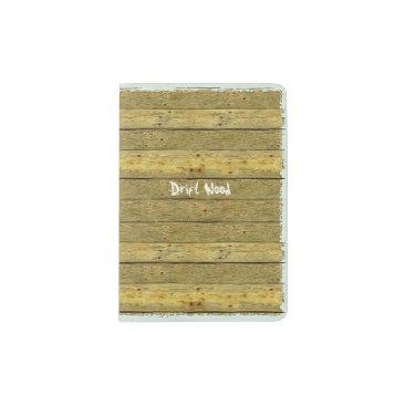 Shopia Drift Wood Novelty Passport Holder