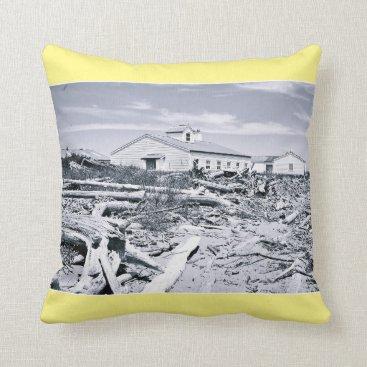 aicPhotography Drift Wood Throw Pillow