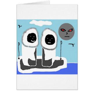 driftin de los esquimales tarjeta